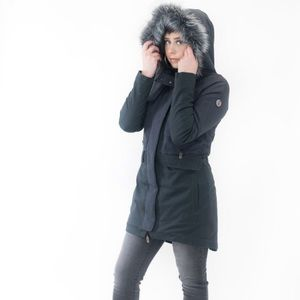 Three Stones Radio Free Woman's Sherpa Lined Parka